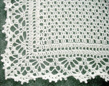 Free Crochet Baby Patterns To Download : Cotton Crochet Baby Blanket ? Crochet Club