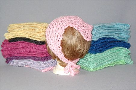 Knitting Pattern Triangle Head Scarf : Hand Crocheted Triangle Head Scarf Kerchiefs