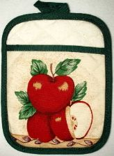Apple Pot Holder Mitt
