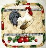 Country Rooster 02 Pot Holder