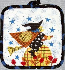 Witch Potholder