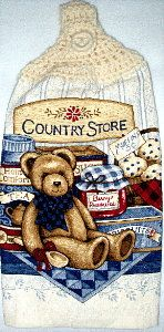 Country Store Kitchen Hand Towel