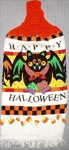 Kitchen towel for Halloween