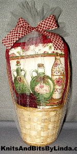 oil bottles gift baskets set