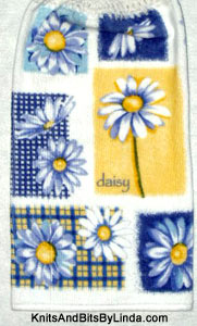 Daisy Breeze Hanging Kitchen Hand Towel