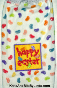 Jelly Beans 02 kitchen hand towel