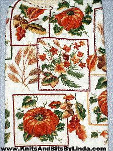 fall harvest 2 hand towel