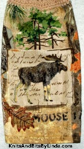 moose trail  hand towel