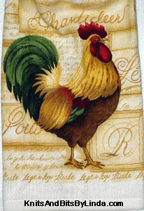 farmland rooter kitchen hand towel