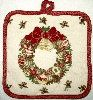 Elegant Wreath Pot Holder