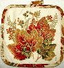 Golden Leaves fall pot holder