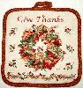 Give Thanks Pot Holder