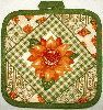 Fall Sunflower Pot Holder