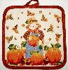 Scarecrow Pot Holder