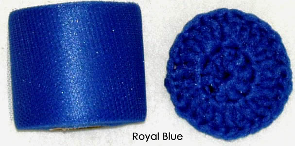 royal blue nylon netting fabric
